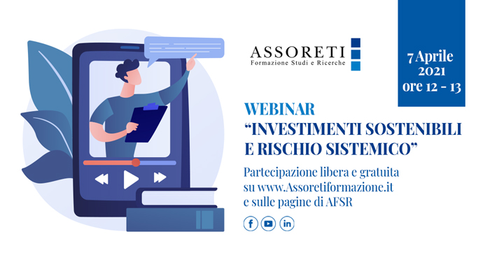 """Webinar """"Investimenti sostenibili e rischio sistemico"""""""